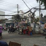 ベトナム(ホーチミン)の電線は相変わらずです