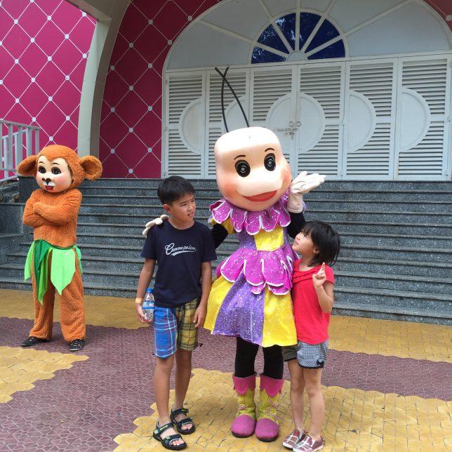 子どもは観光なんかにゃ興味ない(1)ダムセン公園に行きました
